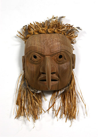 Becoming Thunderbird - Red Cedar Mask