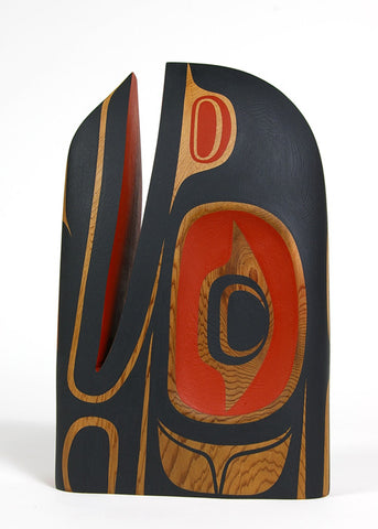 Raven - Red Cedar Sculpture