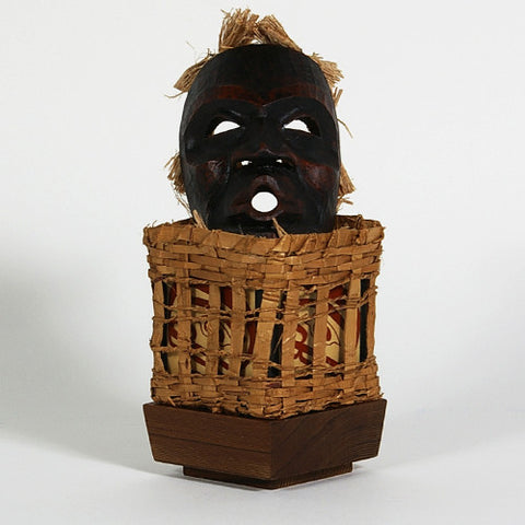 Dzunakwa and Her Basket of Children - Cedar Bentwood Box