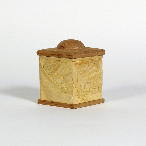 Bradley Hunt - Frog, Eagle, Wolf, Raven - <I>Charity Boxes 2012</I>
