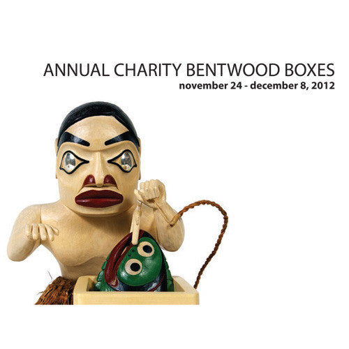 Lattimer Gallery - Charity Bentwood Boxes 2012 - Books