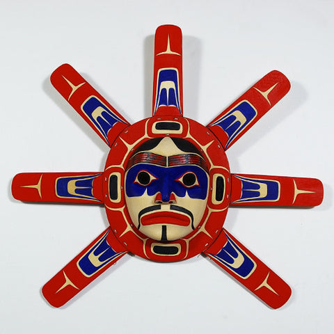 Sun - Yellow Cedar Mask