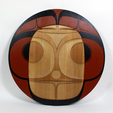 Kugaan Jaad (Mouse Woman) - Red Cedar Panel