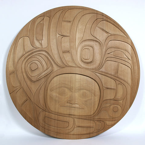 Eagle Transformation - Red Cedar Panel