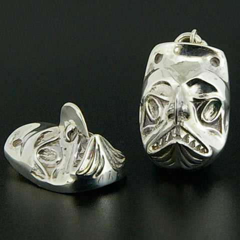 Dogfish - Silver Earrings