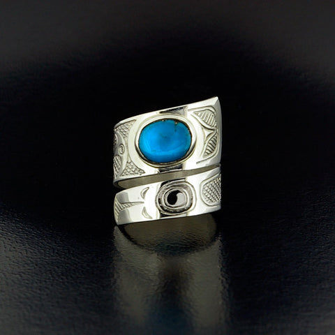 Eagle - Silver Wrap Ring