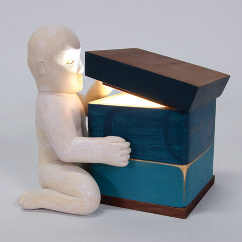 Txamsem Sees the Light - Cedar Bentwood Box