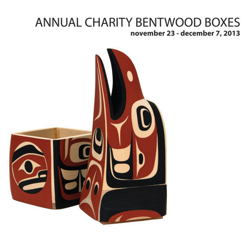 Lattimer Gallery - Charity Bentwood Boxes 2013 - Books