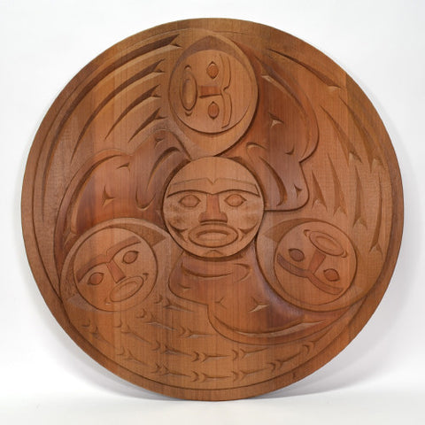 The Journey - Red Cedar Panel