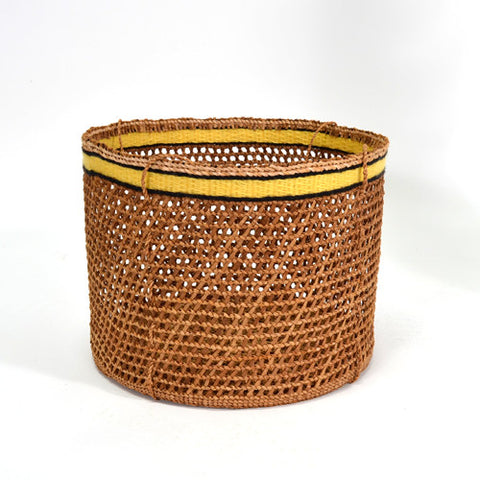 Raven's Tail Wool Weaving - Red Cedar Bark Clamming Basket