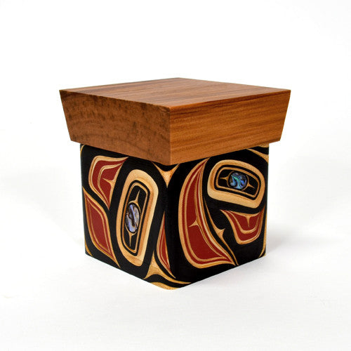 James Michels - Abstract - Bentwood Boxes