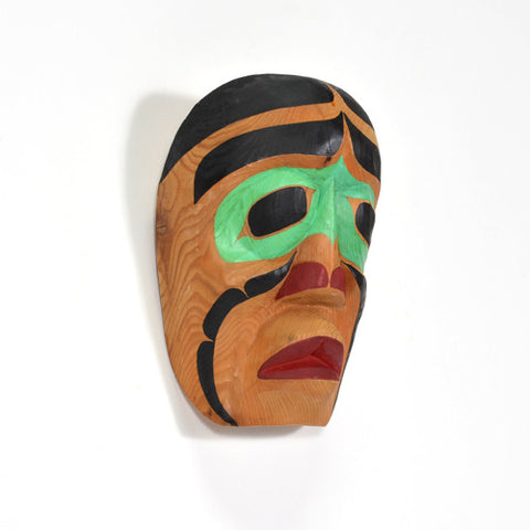 Fool Dancer - Red Cedar Mask