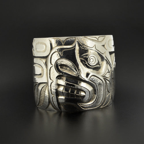 Marcus Alfred - Chief Eagle Nose - Silver Jewellery