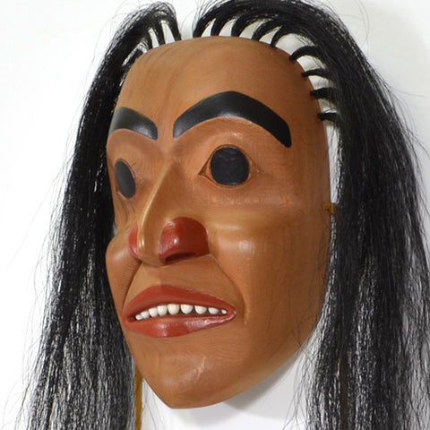 Tsimshian Portrait - Red Cedar Mask