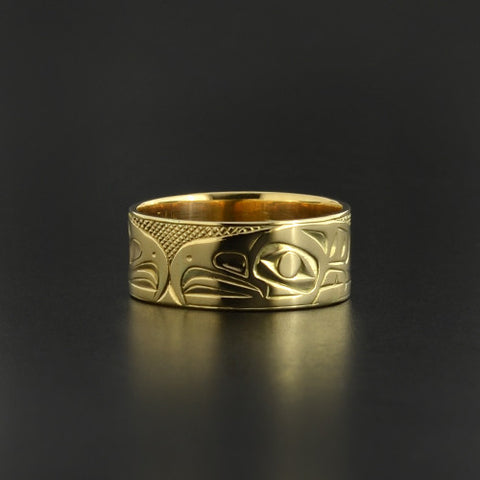 Eagles - 14k Gold Ring