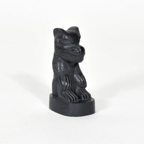 Bear - Argillite Sculpture