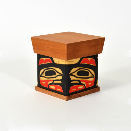 Joe Campbell - Eagle - Bentwood Boxes