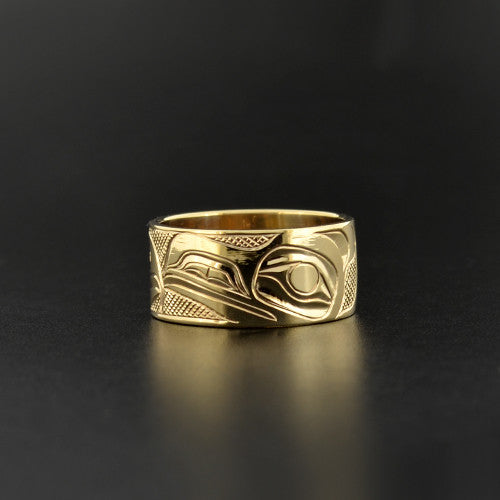 Landon Gunn - Raven and Eagle - Gold Jewellery