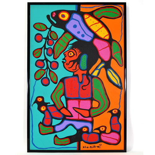 Norval Morrisseau - Child Like Simplicity - Archive