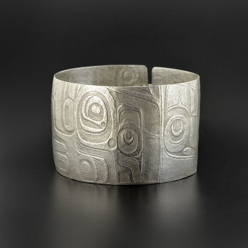 Gwaai Edenshaw - Abstract - Silver Jewellery