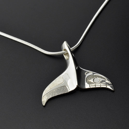 Hollie Bartlett - Whale Tail - Silver Jewellery
