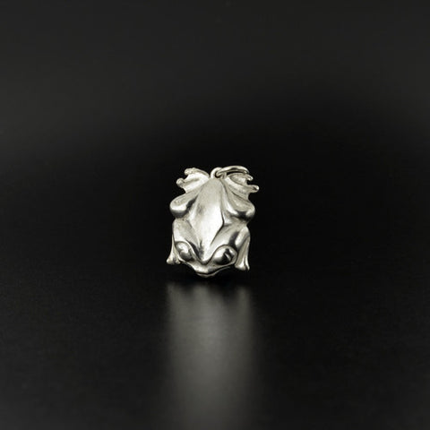 Frog - Silver Pendant