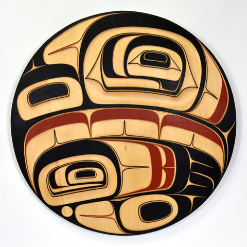 Eagle - Yellow Cedar Panel