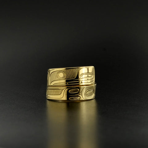 Killerwhale - 14k Gold Wrap Ring