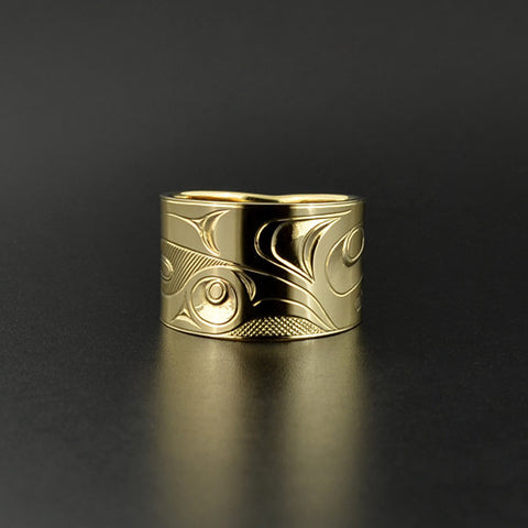 Bear - 14k Gold Ring