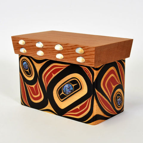 Abstract - Bentwood Chest