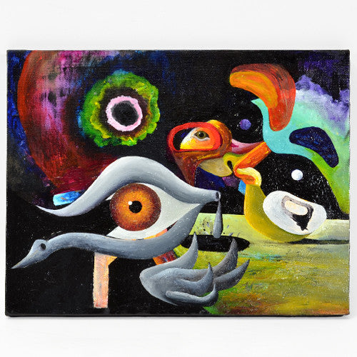 Cody Lecoy - Duck Crossing - Paintings