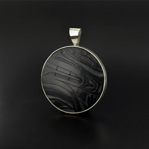 Abstract - Argillite Pendant