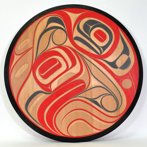 When Love is Born - Red Cedar Panel