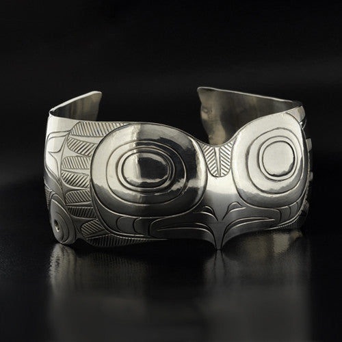 Dean Hunt - Owl - Silver Jewellery