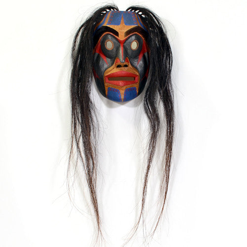 Russell Smith - Bella Coola Human - Masks
