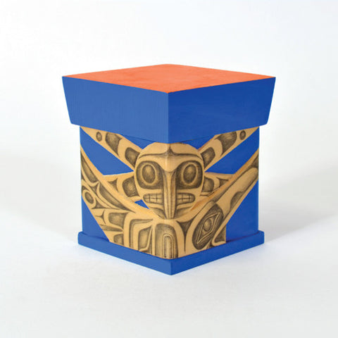 Raven Brings Light to the People - Cedar Bentwood Box
