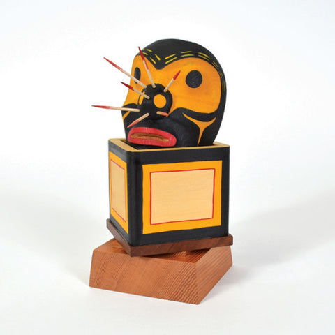 Bumble Bee and His Honey Box - Cedar Bentwood Box