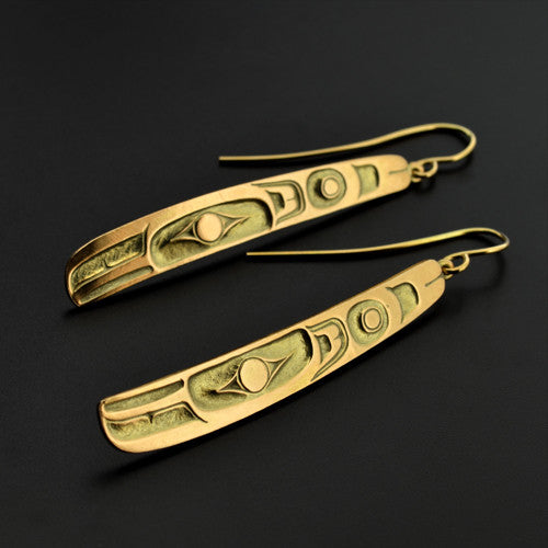 Phil Janze - Raven Feather - Gold Jewellery