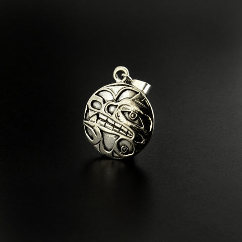 Wolf - Silver Pendant