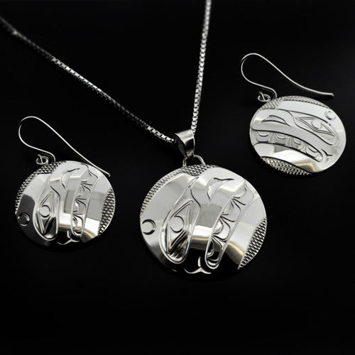 James Adkins - Whale - Silver Jewellery