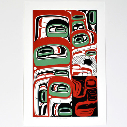 Reg Davidson - Ancient Killerwhale - Prints