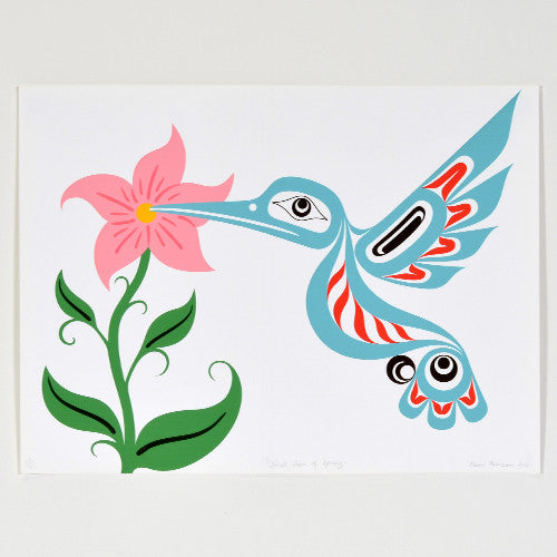 Raven Pearson LeBlanc - First Sign of Spring - Prints