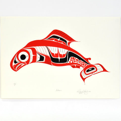 Salmon - Limited Edition Print