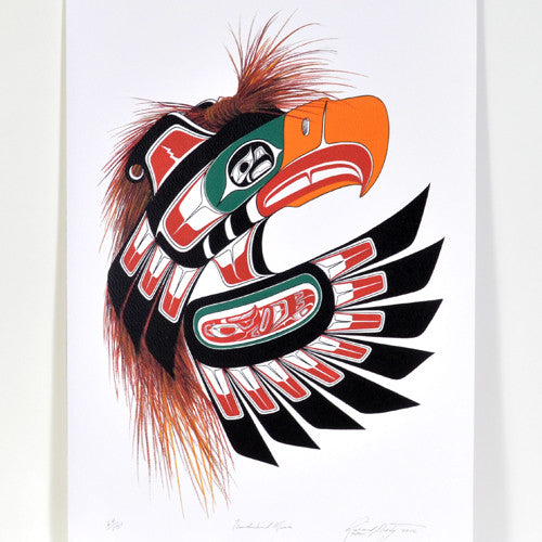 Richard Shorty - Thunderbird Mask - Prints
