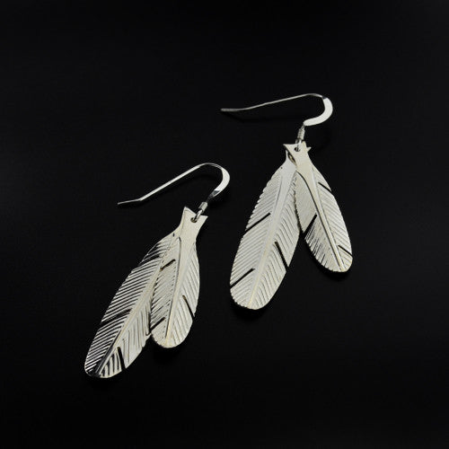 Justin Rivard - Eagle Feathers - Silver Jewellery