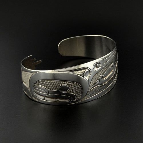 Robert Davidson - Raven and Human - Silver Jewellery