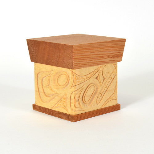 James Michels - Wolf - Bentwood Boxes