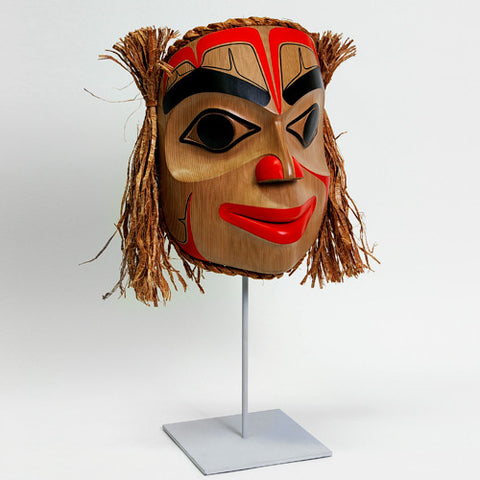 Portrait - Red Cedar Mask
