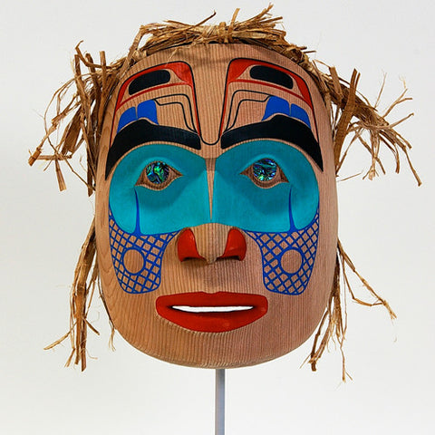 Portrait of an Artist - Red Cedar Mask