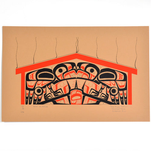 Roy Henry Vickers - House of Eagles - Prints